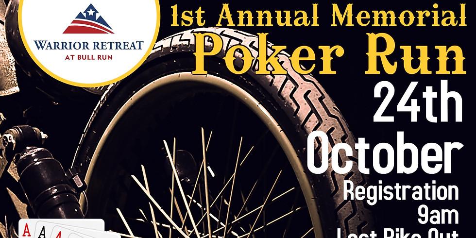 1st Annual Memorial Motorcycle Poker Run