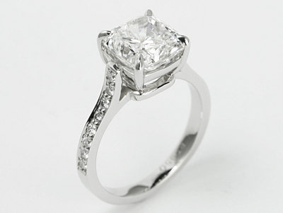 'Uptown Girl' 3ct Diamond Engagement ring