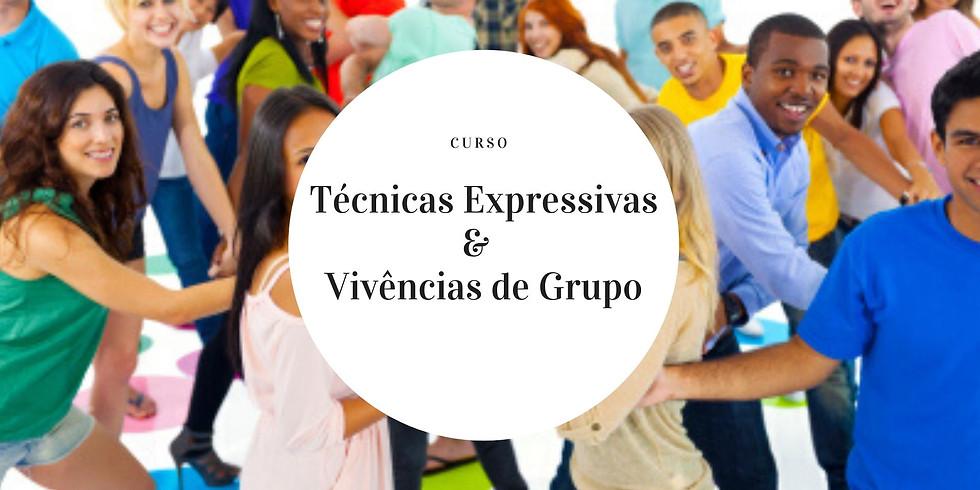 Técnicas expressivas e Vivências de grupo