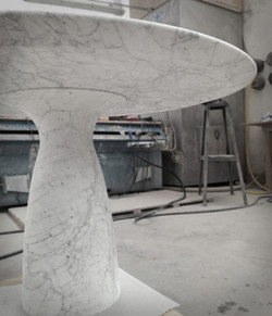 Table in Carrara
