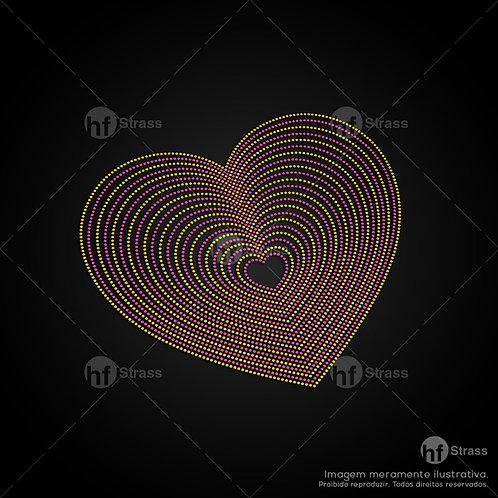 5 un. Coração - Ref.: 1599