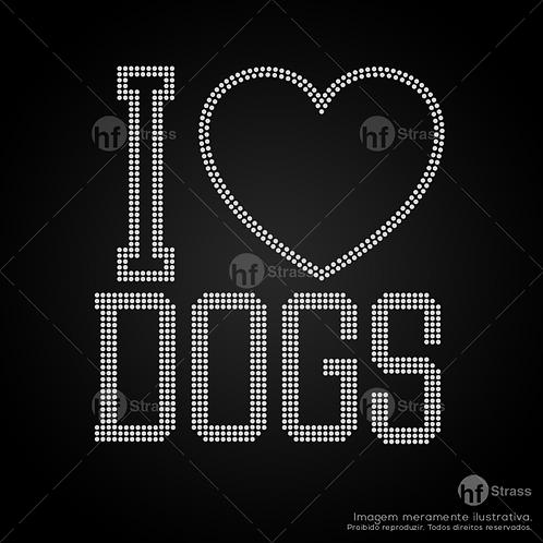 5 un. I love Dogs - Ref.: 1660
