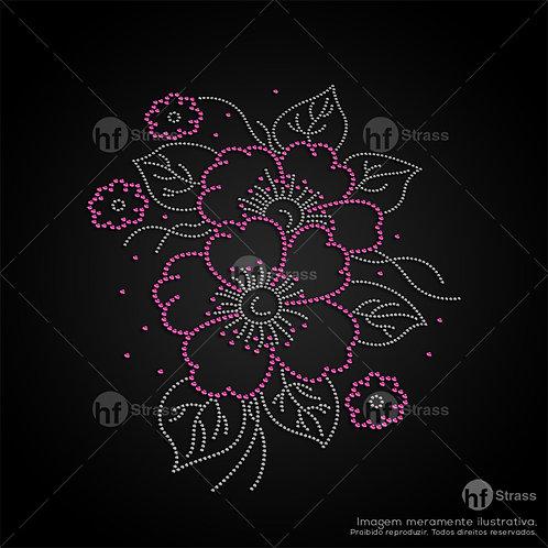 5 un. Flor - Ref.: 1620