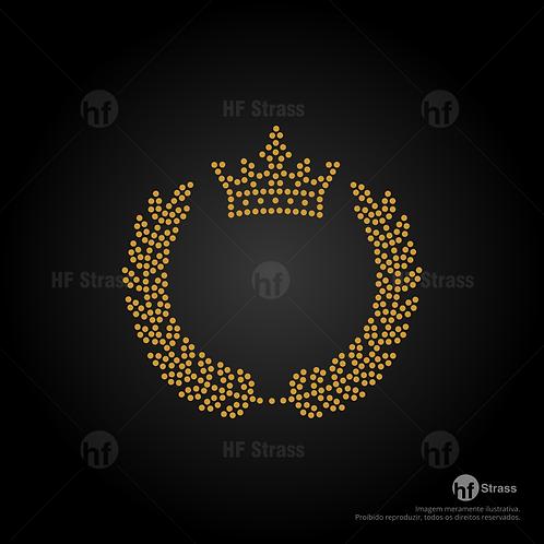 5 un. Coroa Ramo - Ref.:1716