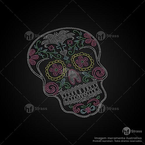 5 un. Caveira Mexicana - Ref.: 1428