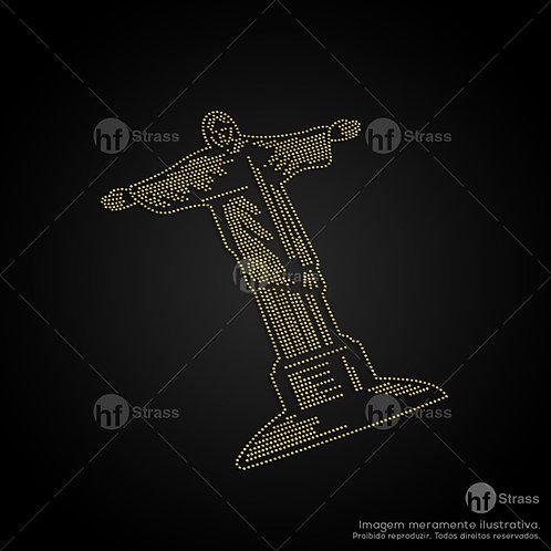 5 un. Cristo Redentor - Ref.: 1276