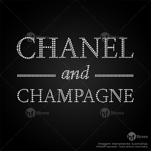 5 un. Chanel and Champagne - Ref.: 1658