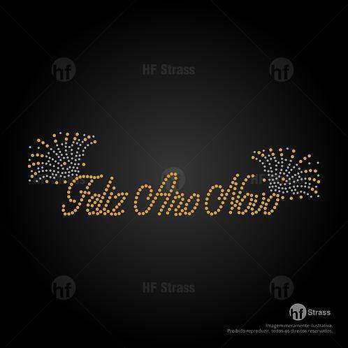 5 un. Feliz ano novo - Ref.:1673