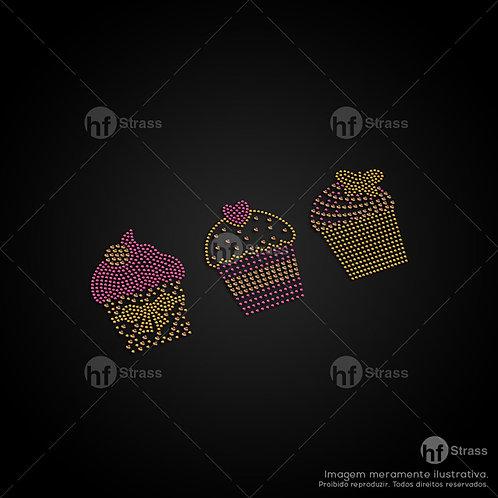 5 un. Cupcake's - Ref.: 1225