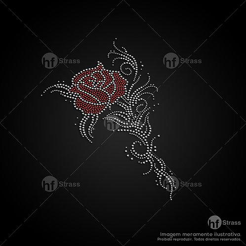 5 un. Rosa - Ref.: 1248