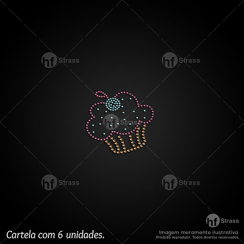5 un. Cupcake - Ref.: 1278