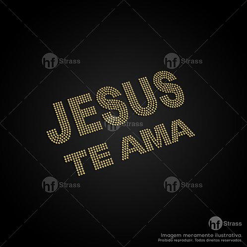 5 un.  Jesus te ama - Ref.: 1165