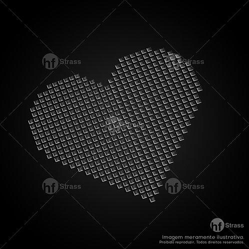 5 un. Coração - Ref.: 1482