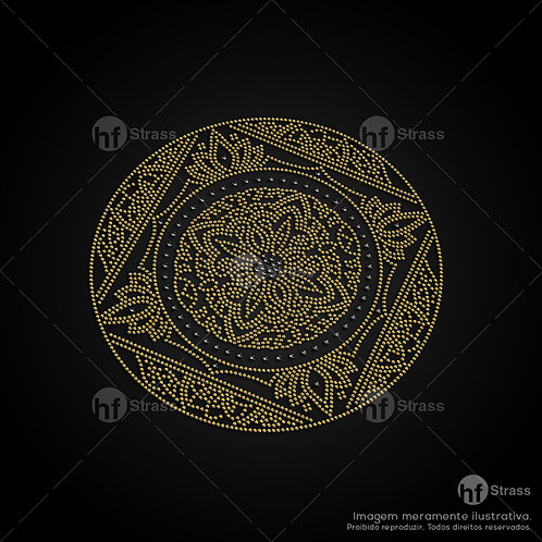 5 un. Mandala - Ref.: 1066