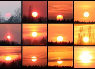 Contempler souvent le coucher un soleil.