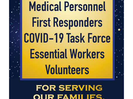 Thank You All Essential Personnel