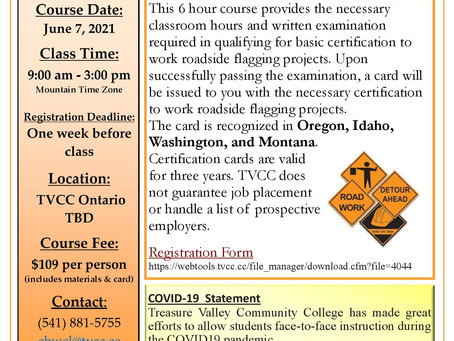 Construction Flagger Certification Course
