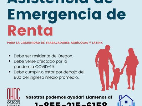 Asistencia de Emergencia de Renta