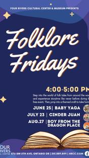 FREE Folklore Fridays