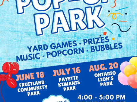 FREE Pop-Up Parks