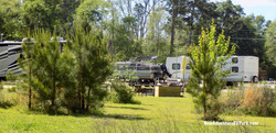 RV Sites next to play area