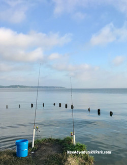 Fishing on Lake Livingston