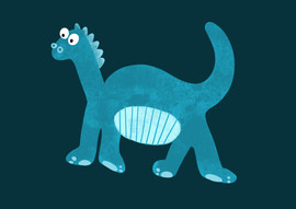 Dino doodle