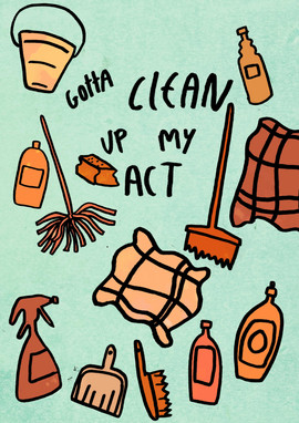 Gotta Clean Up My Act Colour