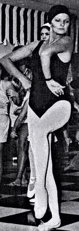 Eva Teaching Dancing