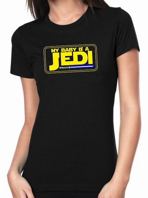 Playera My Baby is a Jedi