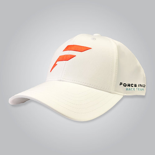 White Adjustable Cap