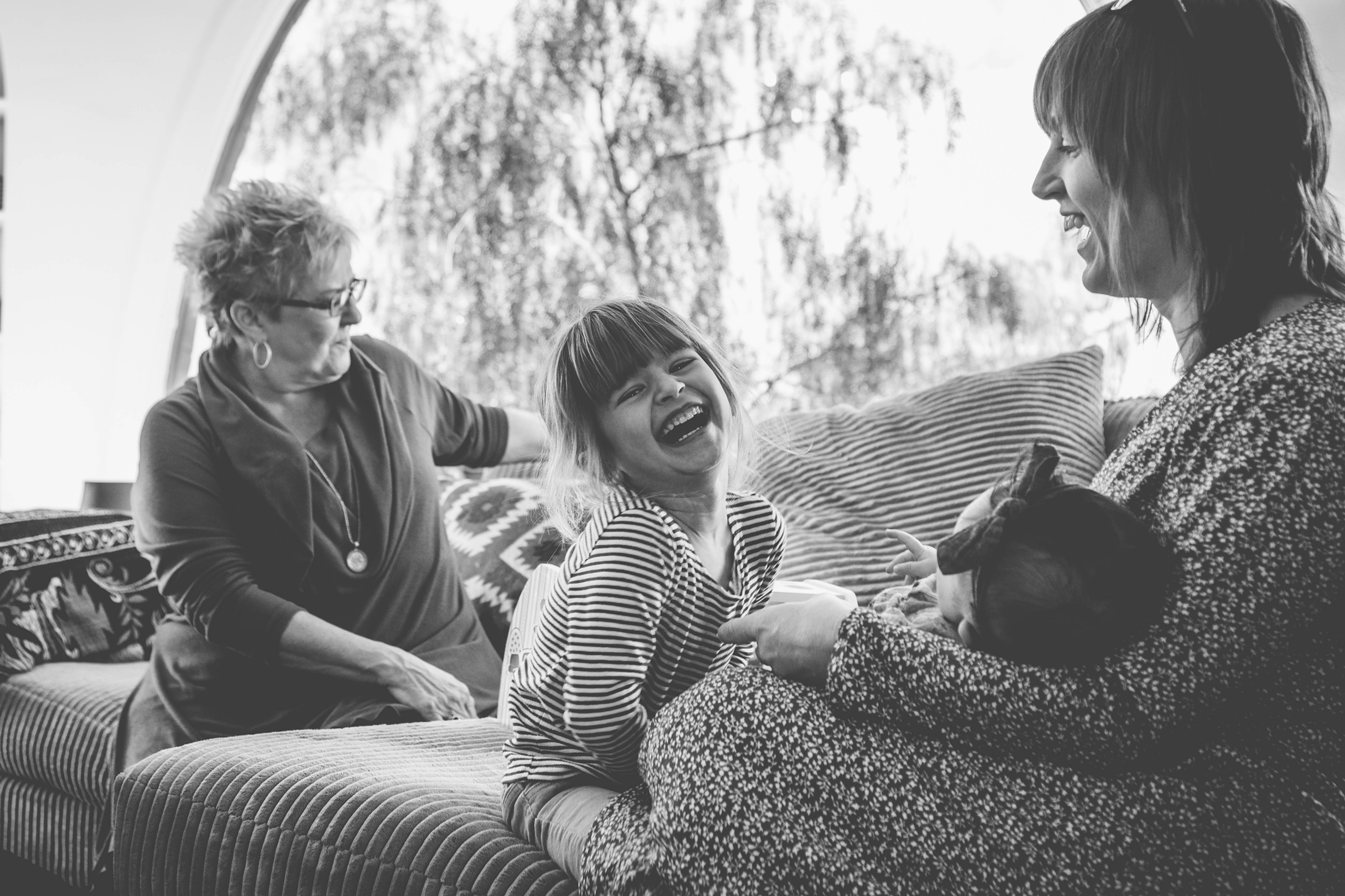 Documentary-Style Family Session