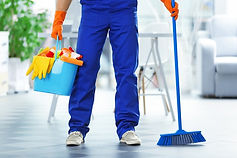Young-janitor-holding-cleaning-124308860