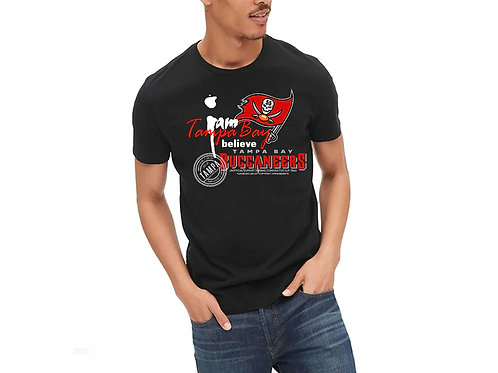 Crew Neck Buc Support T-shirt