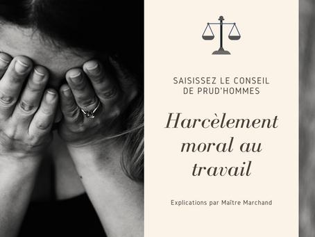 Le Harcèlement Moral au travail par Maître Marchand, avocate à Carcassonne