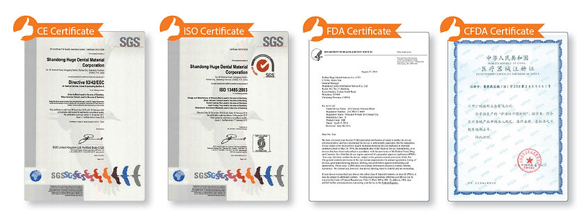 Dental Silicone Accreditations