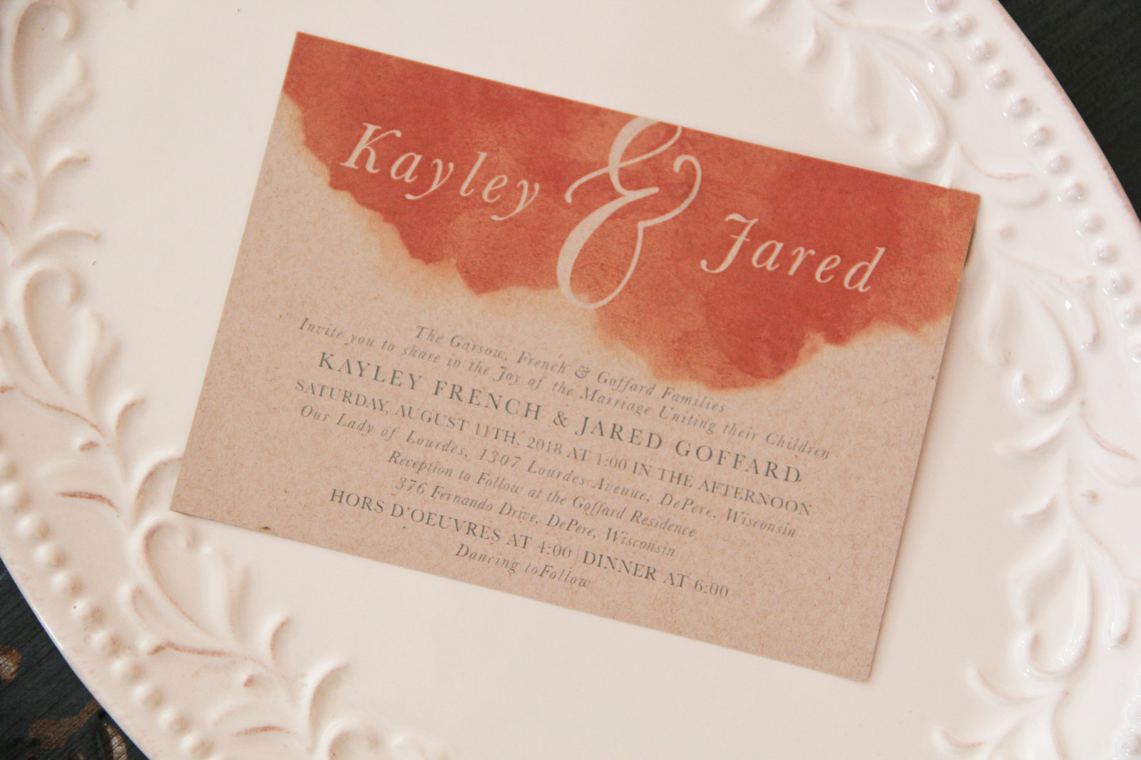 Custom Designs & Invitations | L.designs | Laura Robertson | WI