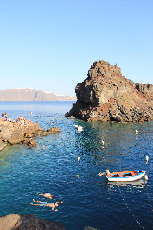 Ammoudi Bay Santorini Greece