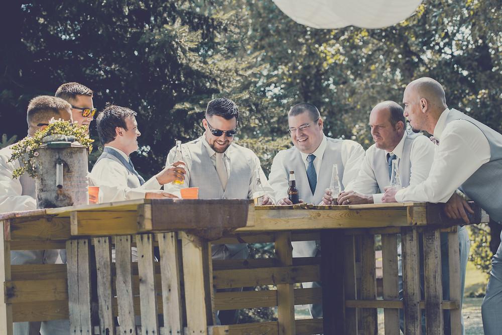 Wedding Decor Pallet Bar