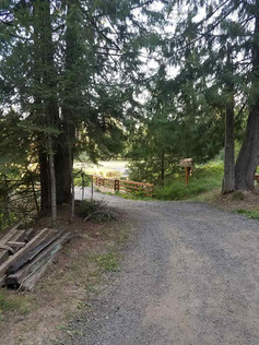 Lane to Gem Lake