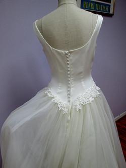 full organza skirt