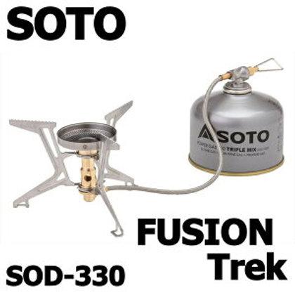 マイクロレギュレーターストーブ FUSION Trek(フュージョントレック)SOD-330