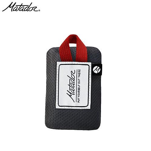 マタドール ミニポケットブランケット レッド/グレー