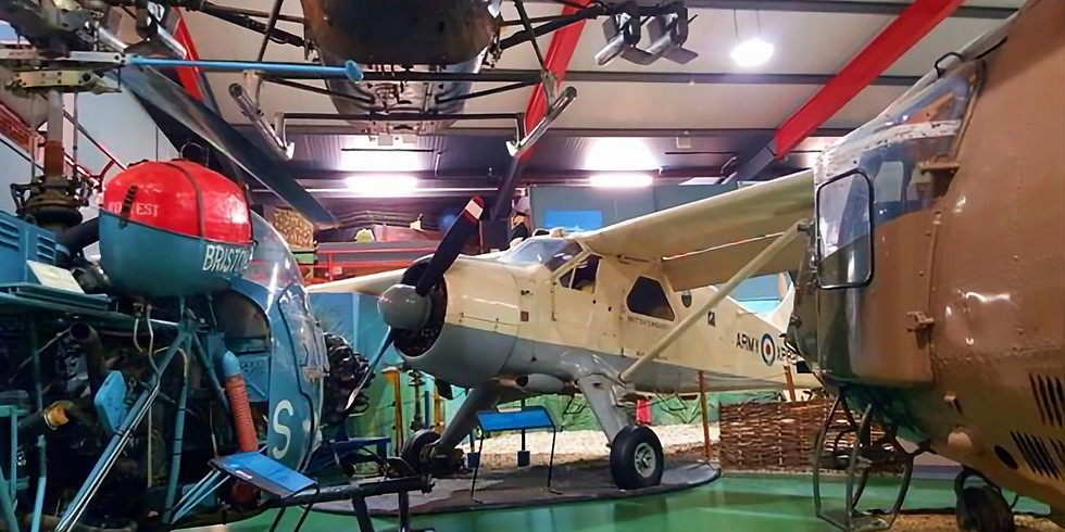 Visit to Museum of Army Flying is cancelled
