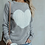 Thumbnail: Reversible Hollow Out Knitted Sweater Pullovers Heart Pattern