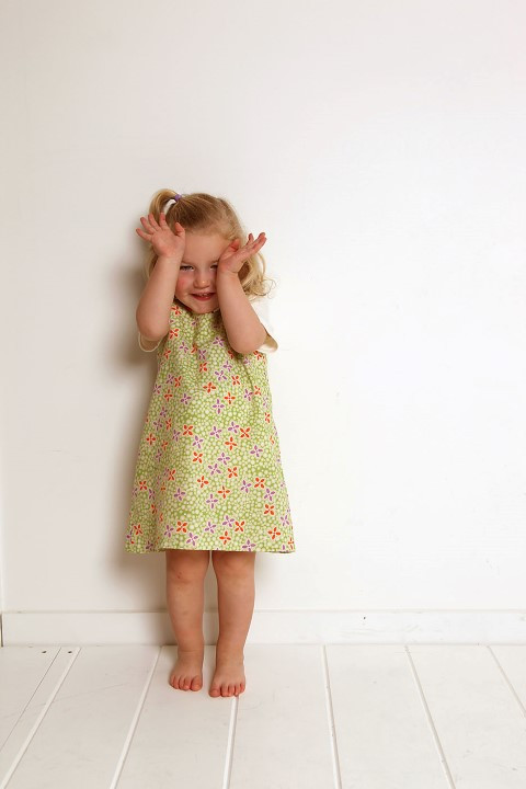 Pinafore Dress sizes 6-8 years - PDF Sewing Pattern