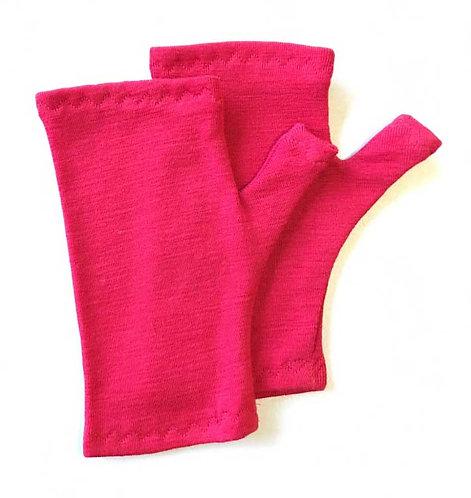 Kids Fingerless gloves- sizes 6 mths-10yrs PDF Sewing Pattern