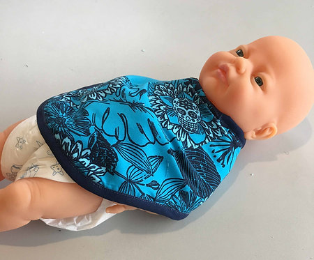 Babies bib, Bandana Bib, prem to 6 months PDF pattern