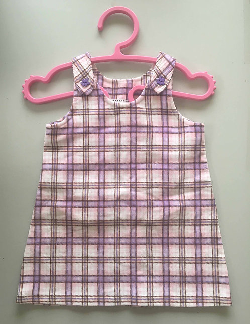 Pinafore Dress sizes 6 months - 4 years - PDF Sewing Pattern