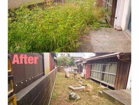 津市草刈り年間管理作業